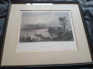 """W H BARTLETT """"Fort Chambly"""" Print"""