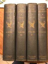 Life Of Game Animals Volume 1 To 4 Literary Guide Lot Of 4 Books