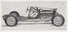D4840 Alfa Romeo - Chassis della 8 cilindri 2900 A - Stampa d'epoca - 1935 print