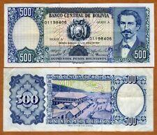 Bolivia, 500 Pesos Bolivanos, 1981, P-165, Serie A, VF