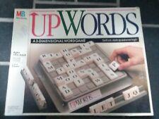 Upwords - 3-Dimensional Word Game Board Game Milton Bradley COMPLETE