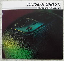DATSUN 280 ZX Sports Car LF Sales Brochure 1981 USA PRINT #WE-10-81 360M