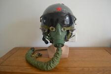 Original Air Force High Altitude Fighter Pilot Flight Helmet,Oxygen MasK