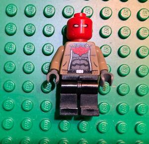 Lego DC Batman Super Heroes Red Hood Minifigure 76055 Sh282