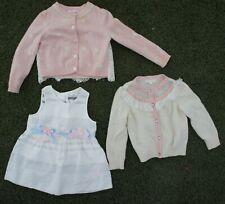 Lot 3 Nicholas & Bears Boutique Girls Cashmere Coverup Sweater Dress 2T 24m
