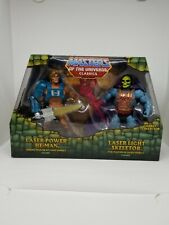 Laser Power He-Man Laser Light Skeletor MOTUC, MASTERS OF THE UNIVERSE CLASSICS