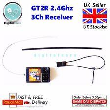 GT2R 2.4Ghz 3Ch Receiver Compatible with Ansmann W5 W6 R5 Flysky Turnigy Eurgle