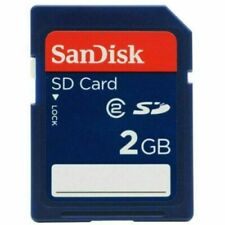 Cartes mémoire SanDisk SD pour appareil photo et caméscope, 2 Go