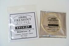 "Fremont ""SOLOIST"" Wound Low-G Squeakless Polished Ukulele String"