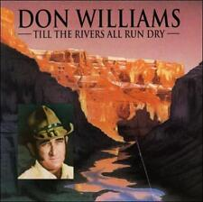 Till the Rivers All Run Dry by Don Williams MINT Music Audio CD, Universal
