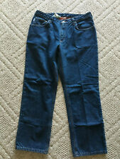 """Carhartt Womens Flannel-Lined Jeans - Size 14 - Inseam 30"""""""