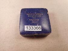 1937 Original Coin Snap Case for Pennsylvania's Delegation to Sweden - # 133366
