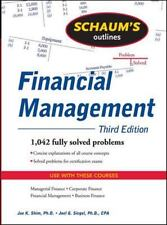 Schaum's Outline of Financial Management, Third Edition (Schaum's Outlines), Sie
