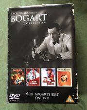 Humphrey Bogart Box Set Big Sleep Casablanca key largo maltese Falcon Region 2