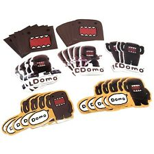 Lot of 32 x GENUINE Domo Domokun Decals Stickers Collection Japan TV Licensed