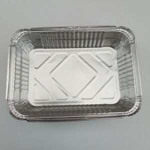 Disposable Aluminium Foil Trays Containers Baking Cooking Freezing Storing Tray