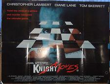 Christopher Lambert KNIGHT MOVES (1992) Original movie poster