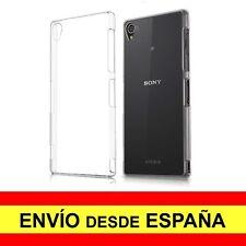 Funda Silicona para SONY XPERIA Z3 Carcasa Transparente TPU ¡DESDE ESPAÑA! a2074