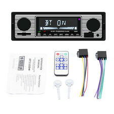 1 Din Car Stereo Radio MP3 Player Bluetooth Mic FM AM TF USB AUX w/ Remote