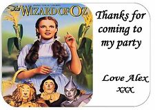 WIZARD OF OZ LABEL STICKER X 24