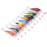 1Pcs Freshwater Fishing Lures 5.7cm 4.4g Flathead, Bass, Perch, Trout,Cod