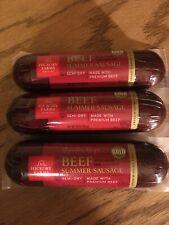 Hickory Farms Signature Recipe Beef Summer Sauage 10oz - Pack of 3