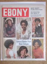 EBONY April 1977 CAMPUS QUEENS FROM BLACK COLLEGES; Sex Education; Alex Haley