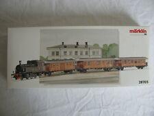 Marklin Digital HO Scale Historic Swedish SJ Passenger Train Set #28703