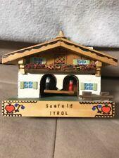 New listing Original Vintage Scheibner Austria Musical Reuge Seefeld Tyrol, Weather House?