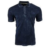 Shirt Polo Diesel T-DONK 0NAOS 01 Blue Denim Look  RRP100€
