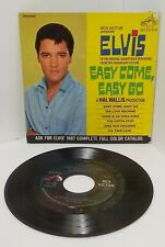 ELVIS PRESLEY 45 - RCA (EPA-4387) easy come,easy go (1S/1S) VERY RARE DOS LABEL