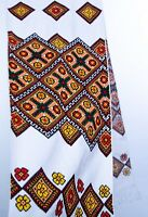 Ukrainian RUSHNYK Hand Cross-Stitch Embroidery 200x33 cm Rustic WEDDING decor