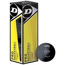 Dunlop Dunlop Pro Racketball Balls (Box of 3) -Ds