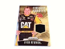 Ryan Newman 2016 Panini Prizm Racing FF Race Used Firesuit Patch #/149 Nascar