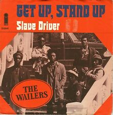 "7"" The Wailers (Bob Marley / Peter Tosh) – Get Up, Stand Up // Dutch 1973"