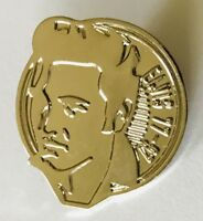 Elvis Presley The King Rock n Roll 77-97 Quality Pin Badge Rare Vintage (J2)