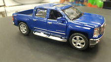 2014 Chevrolet Silverado blue kinsmart TOY model 1/46 scale diecast Car