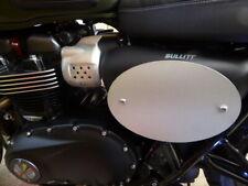 Street Scrambler Classic Oval Number Plate Board Aluminium Triumph Flat Track