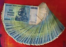 50 x 1 Million Zimbabwe Dollars Banknotes 2008 ½ Bundle Currency Paper Money Lot