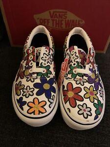 Vans Era Platform Glitter Daisies Sneaker Size 6