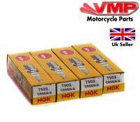 4 x NGK CR9EH-9 Spark Plug For Honda CB/CBR/CBF 600 (7502)