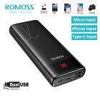 ROMOSS+20000mAh+Power+Bank+2%2AUSB+LCD+Portable+External+Battery+Charger+for+Phone