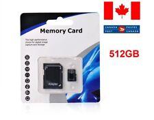 512GB Micro SD SDXC Universal Memory Card TF Flash Class 10 For Phone, Camera