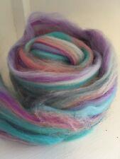Unicorn Sparkle 10g Merino Wool Milk Protein Fibre Mix Felting, Arts
