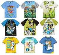 Boys Official Paw Patrol Various Summer Short Sleeve T Tee Shirt Top 3 - 8 Years
