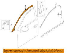 MAZDA OEM 16-18 CX-9 Front Door-Upper Molding Trim Right TK4850981H