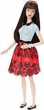 Barbie Life in the Dreamhouse Fashionistas Barbie Doll # 19 Ruby Red Floral