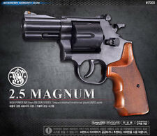 "Academy Korea S&W M586 2.5"" Magnum Airsoft Pistol BB Replica Hand Toy Gun 6mm"