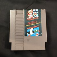 Super Mario Bros Duck Nintendo Entertainment System NES Cartridge Only Vtg 1985