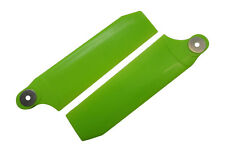 KBDD Neon Lime 112mm Extreme Tail Rotor Blades Trex 800 Goblin 700 770 #4082